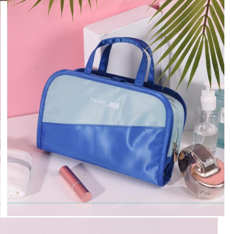 Women Korean Trend Cosmetic Bag With Small Tote Bag