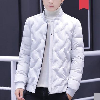 Men's Korean Trend Youth Pop Fashion Cotton Pad Jacket Long Sleeve