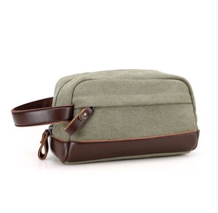 Men's Korean Trend Retro Small  Canvas Hand Bag
