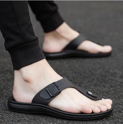 Men\'s Korean Trend  Fashion Non Slip Beach FlipFlops
