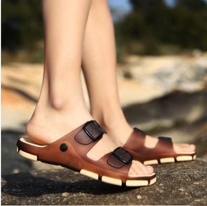 Men\'s Korean Youth Trend Summer Non Slip Drag Style Slippers