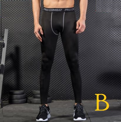 Men's Korean Fashion City Trend Athletic  Gym and Exercise Sports Trouser