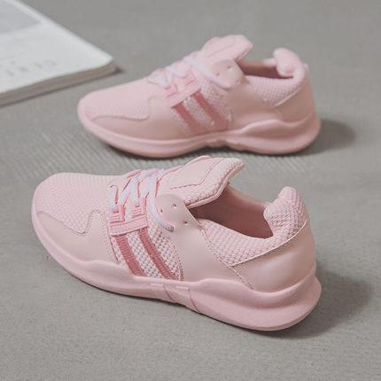 [READY STOCK] Women Sports Harajuku Students Flat Running Shoes
