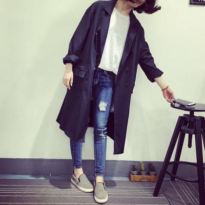 [READY STOCK] Korean Loose-fitting Long Jacket Cardigan Coat