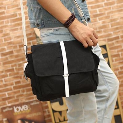 Canvas Shoulder Sling Crossbody Men Bag