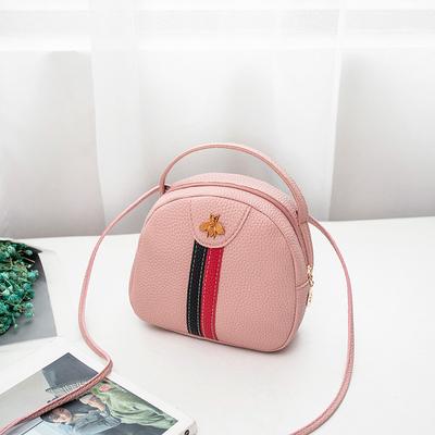 Women Korean Fashion 3 Piece Set Leather Shoulder and Hand Bag