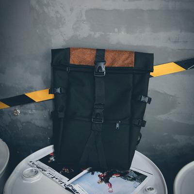 Men\'s Korean Fashion Trend Street Style Waterproof Travel Backpack