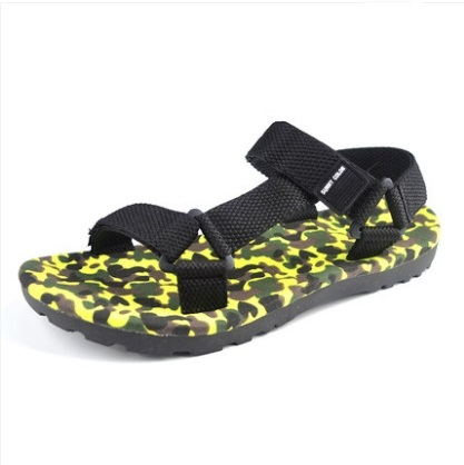 Men\'s Fashion Trend Fashionable  Camouflage Beach Sandals