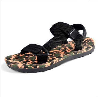 Men's Fashion Trend Fashionable  Camouflage Beach Sandals