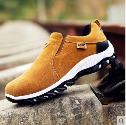 Men\'s Fashion Trend Breathable and Comfortable Travel Hiking Shoes