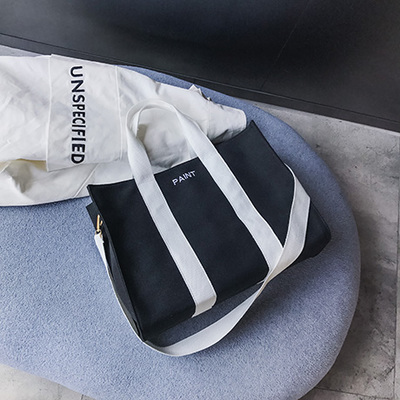 Women Korean Fashion New Large Capacity Wild Style Canvas Shoulder Bag