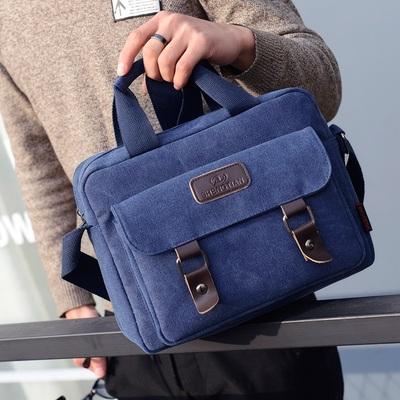 Men's Korean Fashion Cross Body Harajuku Style Vertical Square Bag