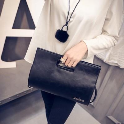Women New Fashion Korean Wild Style Messenger Hand and Shoulder Bag