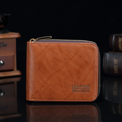Short Card Wallet Men