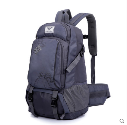Men Korean Trend Large Outdoor Oxford Sport and Travel Backpack