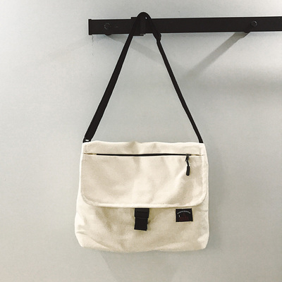 Men Harajuku Style Nostalgic  Canvas Wild Messenger Shoulder Bag
