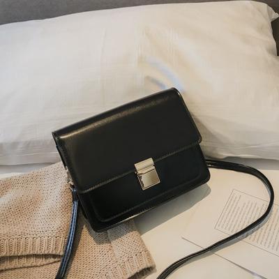 Women Korean Fashion Wild Style Small Leather Square Shoulder Bag