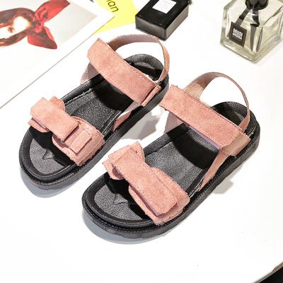 Women Korean Fashion  Harajuku Style Wild Thick Bottom Cake Sandals