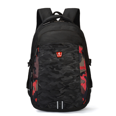 Men Trendy Large Capacity Wild Style Camouflage  Backpack
