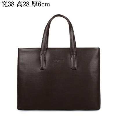 Leather Handbag Shoulder Men Man