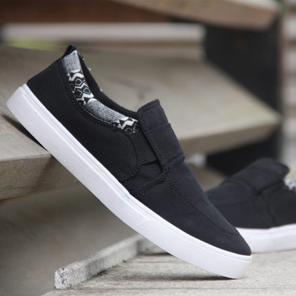 [READY STOCK / PRE-ORDER] Lazy Canvas Casual Men Shoes