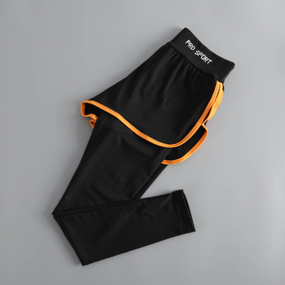Women Korean Trend Shorts in Trouser Stretch Quick Dry Fitness Pants