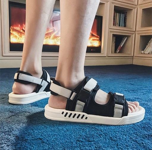Men Korean Fashion Dual Use Outdoor Summer Sandals