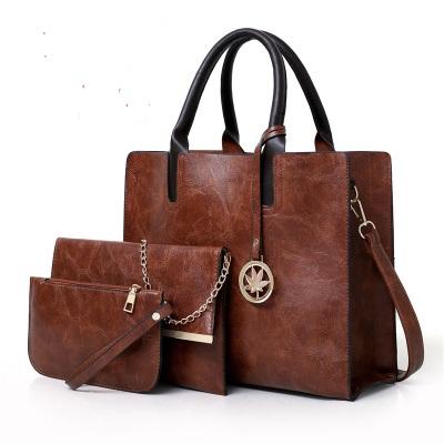 Women Fashion Retro Three Piece Messenger Shoulder Bag