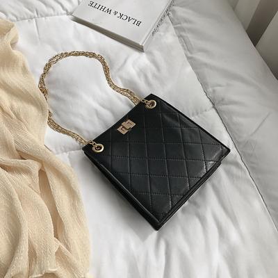 Women Fashion Rhombic Bag Wild Chic Messenger Bag