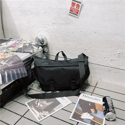 Men Japanese Fashion Big Retro Crossbody Oxford Spinning Bag