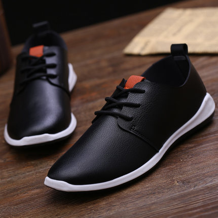Leather Working Casual Men Shoes