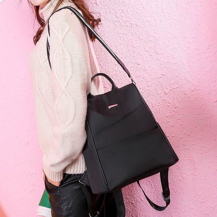 Women Korean Fashion New Wave Wild Oxford Canvas Backpack