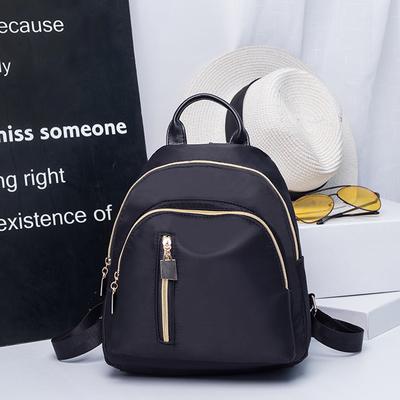 Women Korean Fashion Oxford Cloth Canvas Mini Backpack