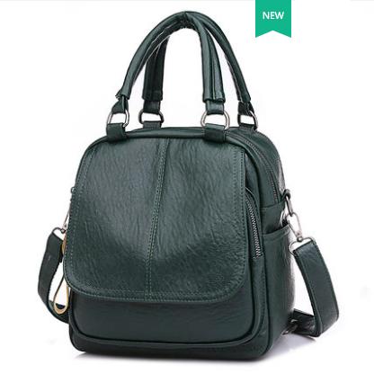 Women Korean Fashion  3 Way Multi function Casual Small Backpack