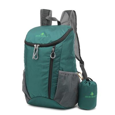 Men Fashion Ultra Light Portable Folding Travel Backpack