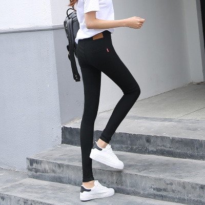 Women Black Super Stretch High Quality Fashion Plus Size Leggings