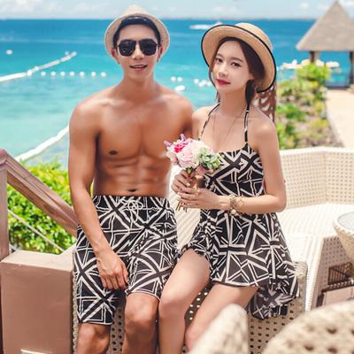 [PRE-ORDER] Korean Couple 2 Pieces Dress Swimsuits