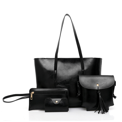 Women Minimalist Classic Fashion All In One Shoulder Bag Set