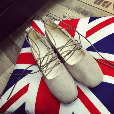 Women's Flat Shallow Mouth Ballet Soft Shoes