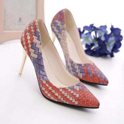 Korean High Heels Shallow Mouth OL Shoes