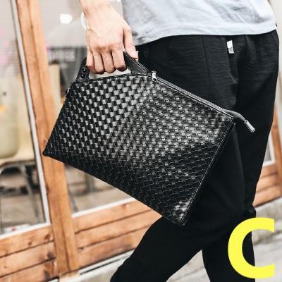 Men Street Casual Fashion Pattern Printed Clutch Bag