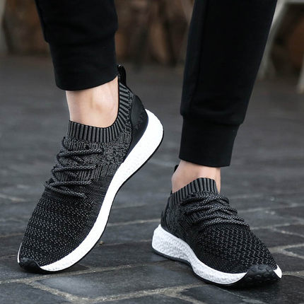 Men New Korean Version Sports Casual Low-top Running Shoes