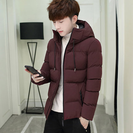 Men New Thick Silk Cotton Coated Fashion Jacket