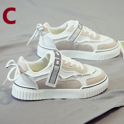 Women Casual Round Head Large Sports Shoes