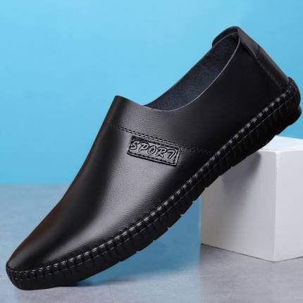 Men Casual Formal Breathable Leather Shoes