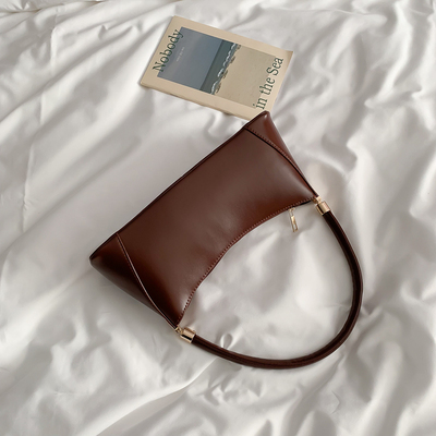 Women Plain Simple Retro Casual Handbag