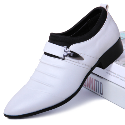 Men Pointed Breathable Business Shoes