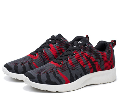 Men Camouflage Sports and Leisure Running Mesh Shoes