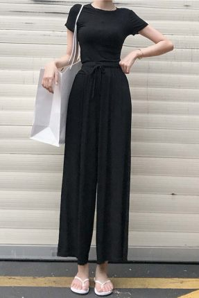 Women Clothing Casual Two-piece Summer Fashion