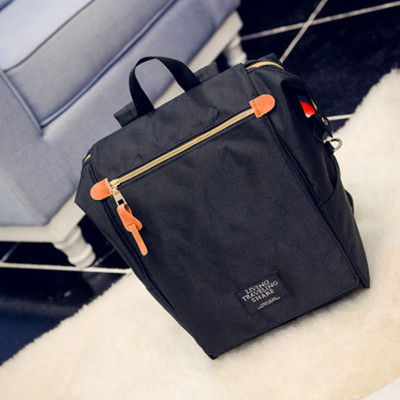 High-capacity Canvas Female Student PC Computer 15.6 Inch Backpack